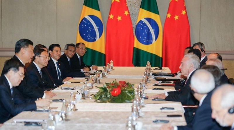 Chinese and Brazilian leaders meet. Photo Credit: Cesar Itiberê / PR/Agência Brasil