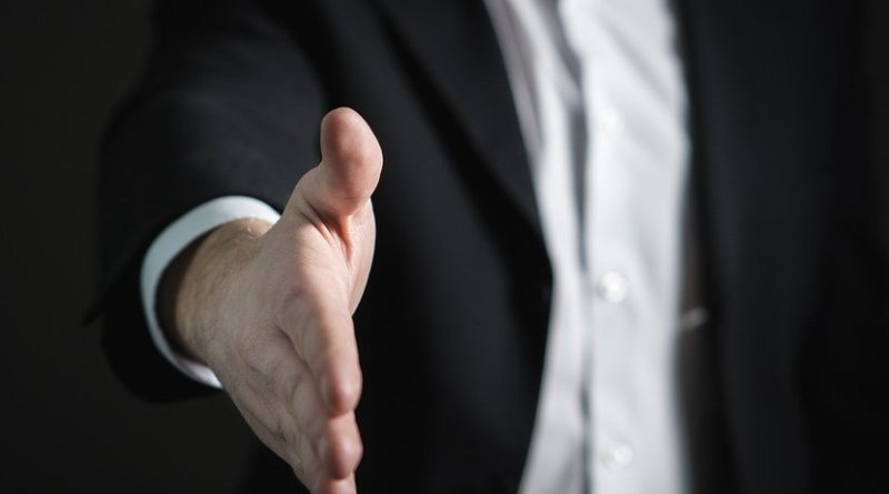 handshake agreement trade