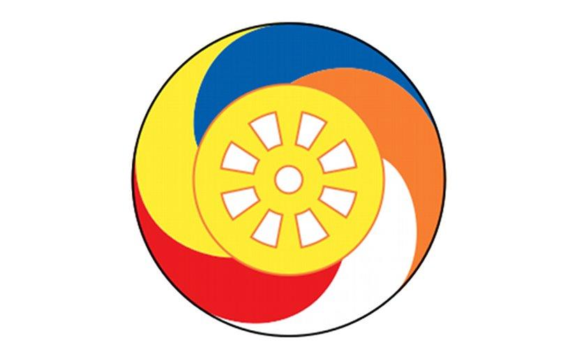 Logo of Bodu Bala Sena (BBS), a Sinhalese Buddhist nationalist organization based in Colombo, Sri Lanka. Credit: Wikipedia Commons.