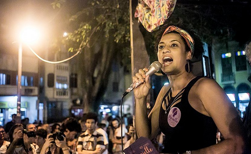 Marielle Franco. Photo Credit: Mídia NINJA, Wikimedia Commons.