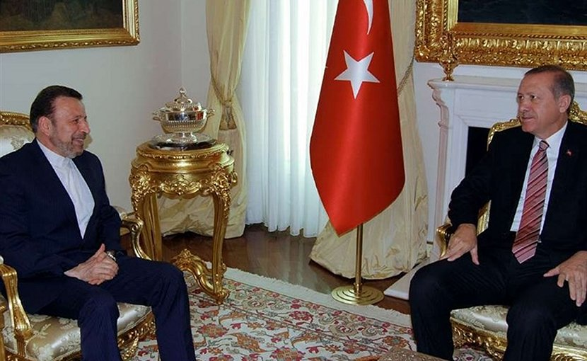 Iranian president's Chief of Staff, Mahmoud Vaezi, meets with Turkish President Recep Tayyip Erdogan. Photo Credit: Tasnim News Agency.