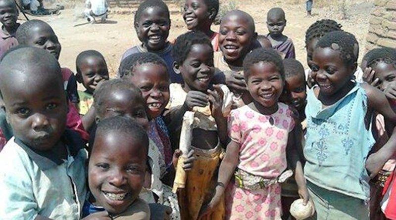 Children in Malawi. Credit: Dr Carina King