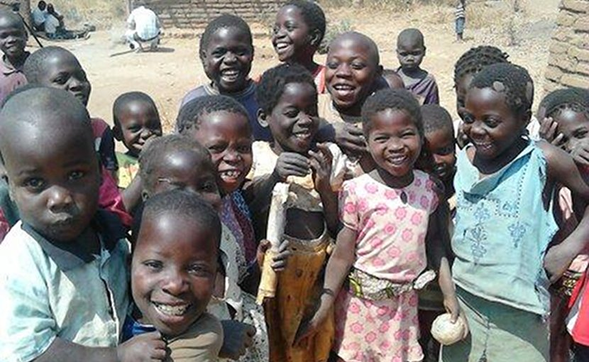 Children in Malawi. Credit: Dr Carina King