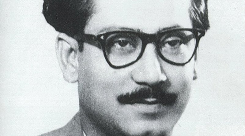 Bangladesh's Sheikh Mujibur Rahman. Photo Credit: Wikipedia Commons.