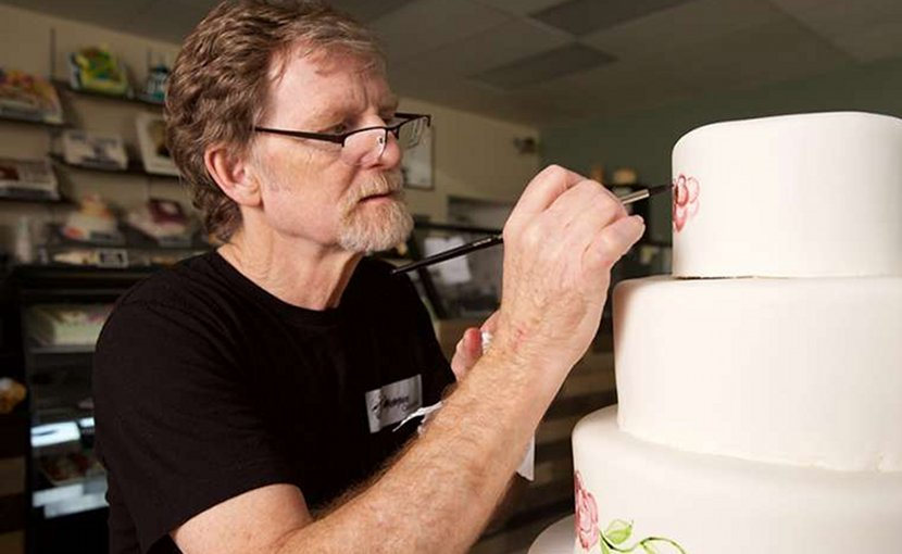 Cake artist Jack Phillips, owner of Masterpiece Cakeshop in Lakewood, Colorado. Credit: Alliance Defending Freedom.