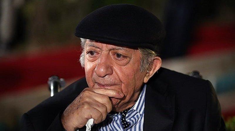 Iranian actor Ezzatollah Entezami. Photo Credit: Tasnim News Agency.