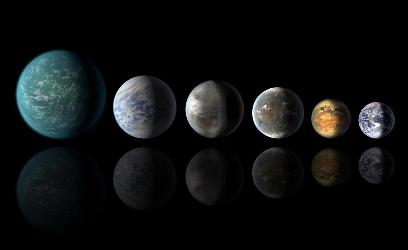 Exoplanets similar to Earth, artist concept Credit Image from NASA