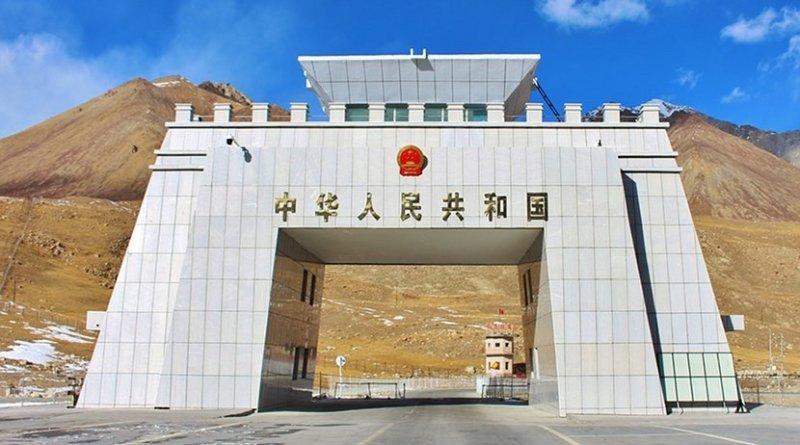 Border between China and Pakistan.