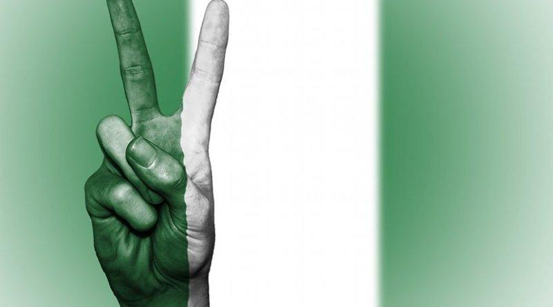 Nigeria flag peace