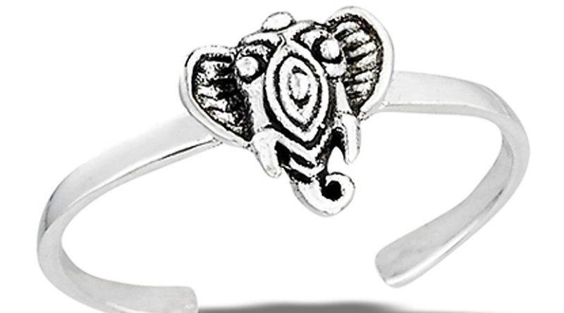 Ganesh Toe Ring