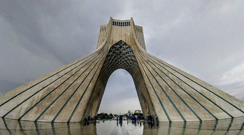 Azadi Tower, Tehran, Iran.