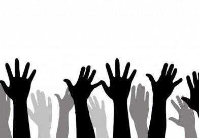 black vote minority hands