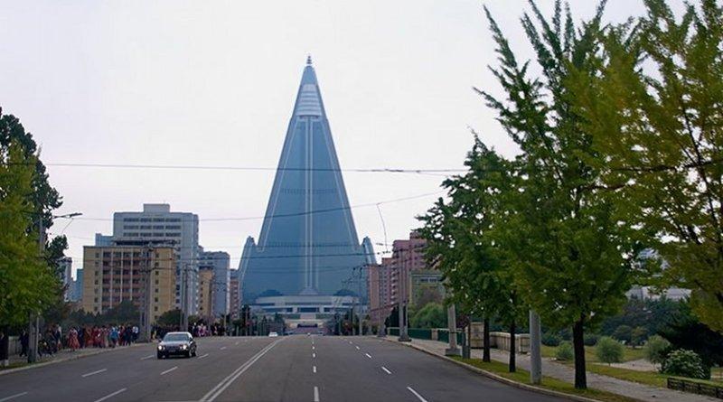 Pyongyang, North Korea. Photo Credit: Uwe Brodrecht, Wikipedia Commons.