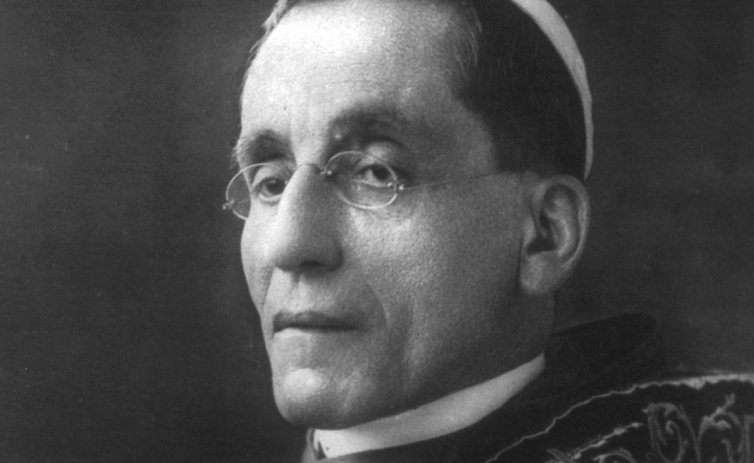Pope Benedict XV. Credit: United States Library of Congress, Wikimedia Commons.