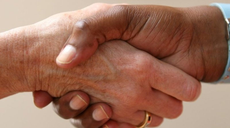 agree accord handshake
