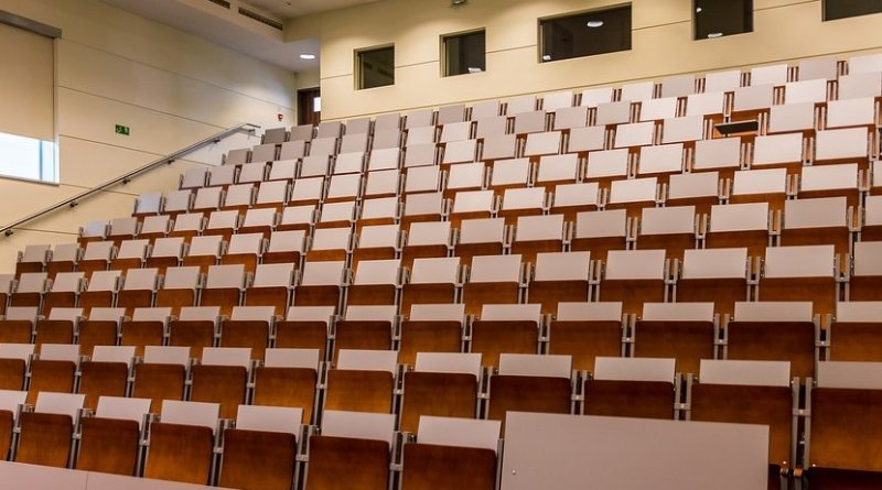 education university lecture hall classroom