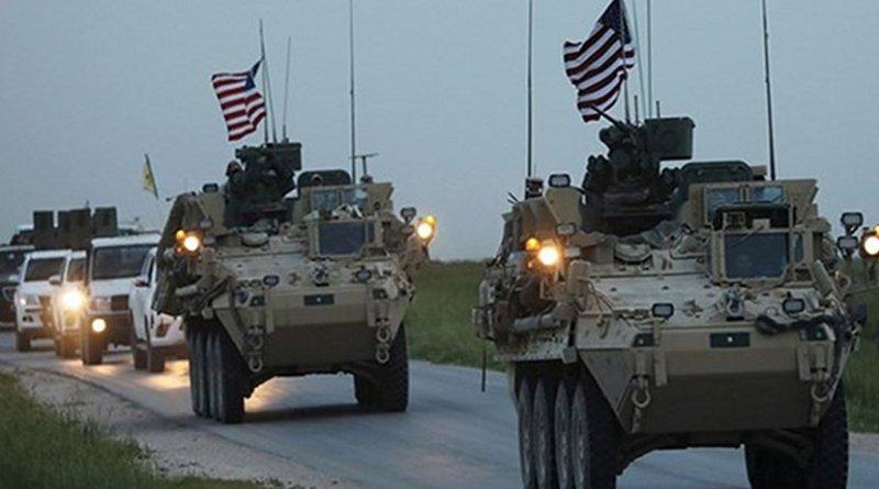 US convoy. Photo Credit: Fars News Agency.