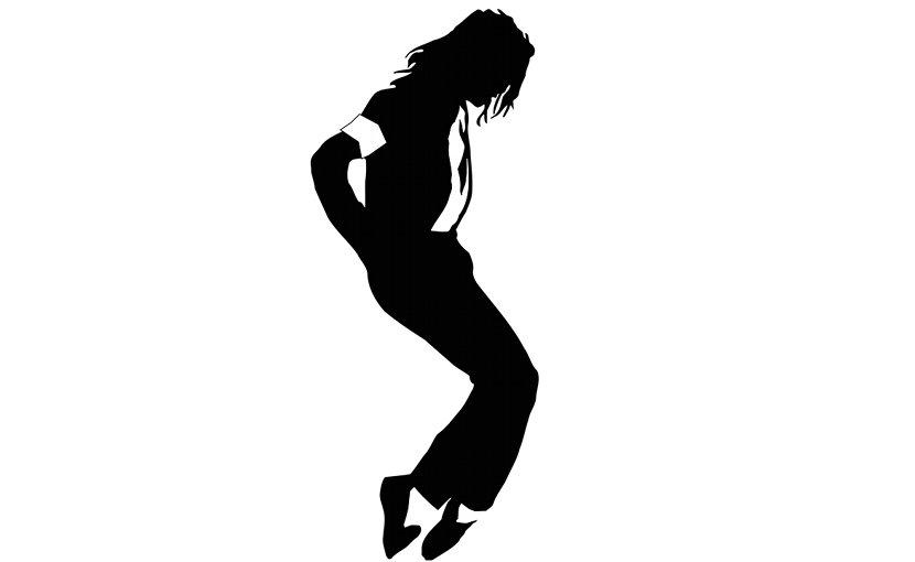 Artistic rendition of Michael Jackson