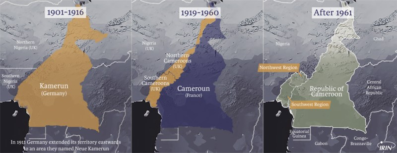 Cameroon over the years. Source: IRIN