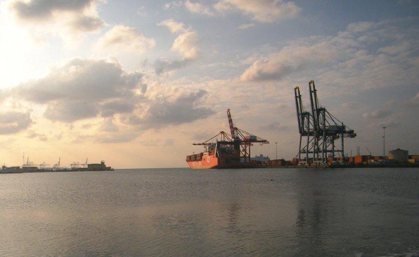 Port of Djibouti. Photo Credit: Skilla1st, Wikipedia Commons.