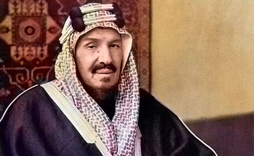 King Abdulaziz bin Abdul Rahman, founder of Saudi Arabia. Credit: Wikimedia Commons.