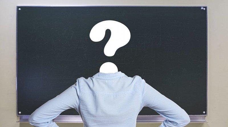 student question classroom