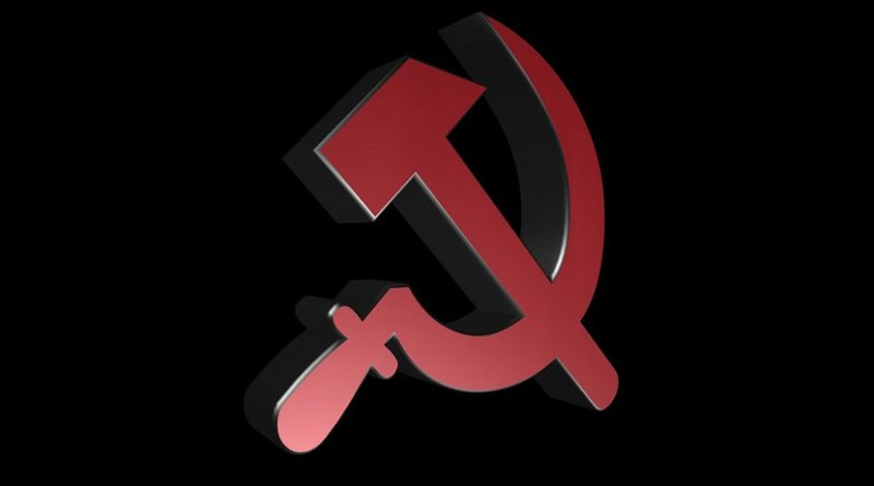 soviet sickle and hammer russia