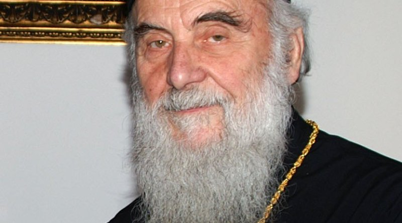 Serbian Patriarch Irinej. Photo Credit: Υπουργείο Εξωτερικών, Wikimedia Commons.