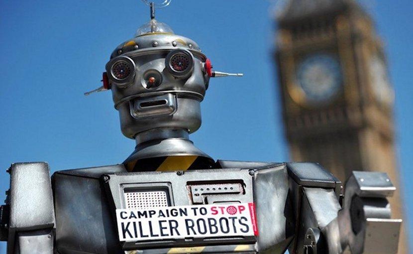 Killer robot. Credit: ploughshares.ca