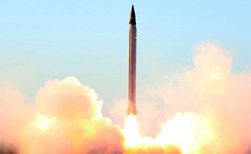 Iranian missile. Photo Credit: Fars News Agency