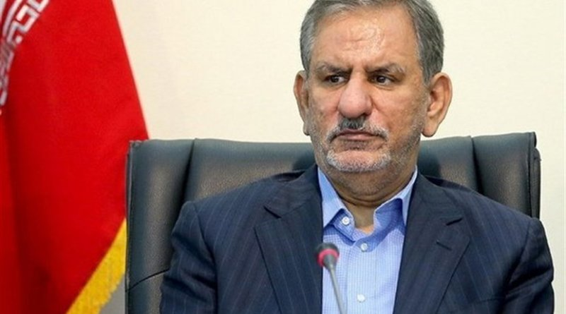 Iran's Eshaq Jahangiri. Photo Credit: Tasnim News Agency.