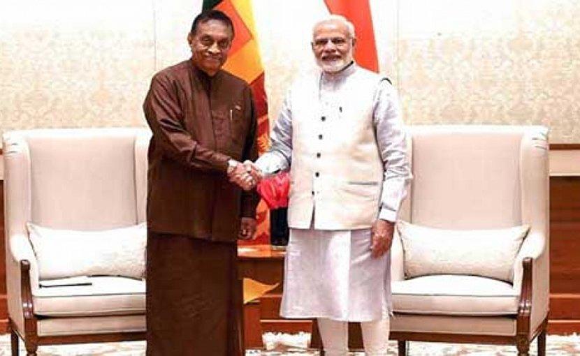 Indian PM Modi Meets Sri Lankan Parliamentary Delegation