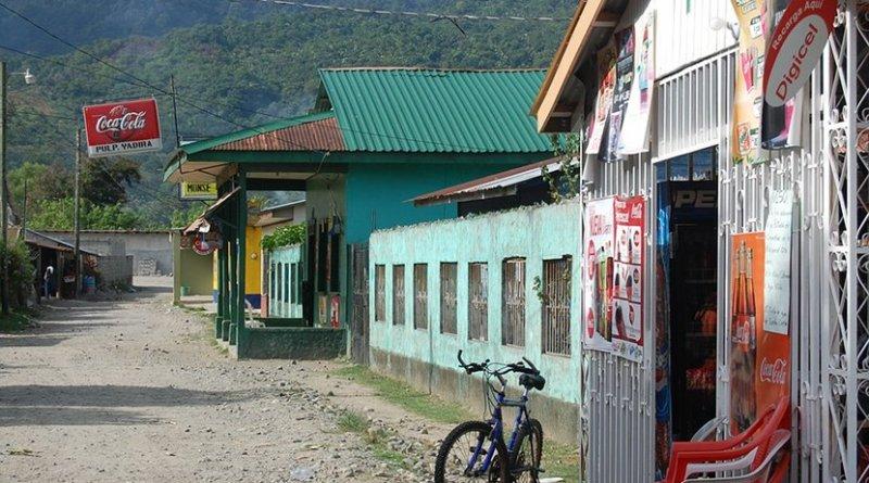 A small town in Honduras.