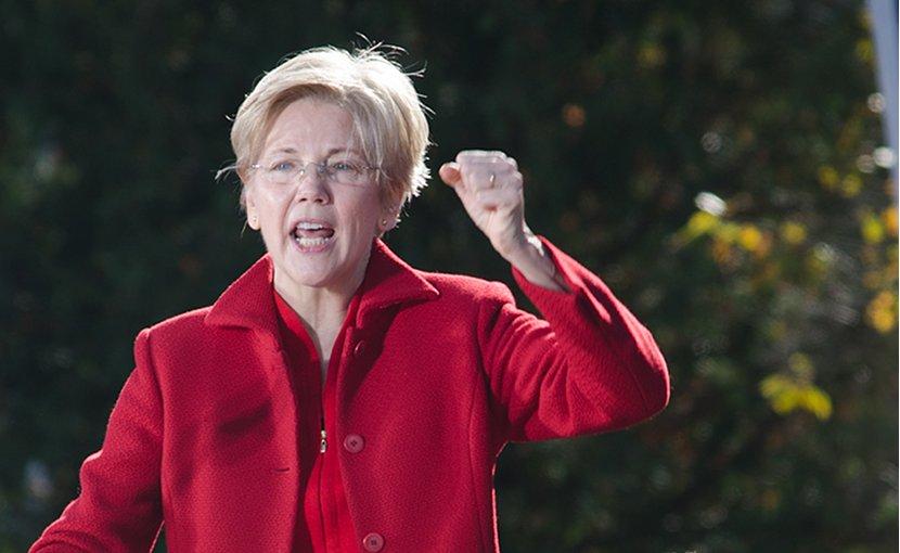 Elizabeth Warren. Photo Credit: Tim Pierce, Wikipedia Commons.