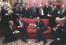 Summit in November 1985. Source: Wikimedia Commons.