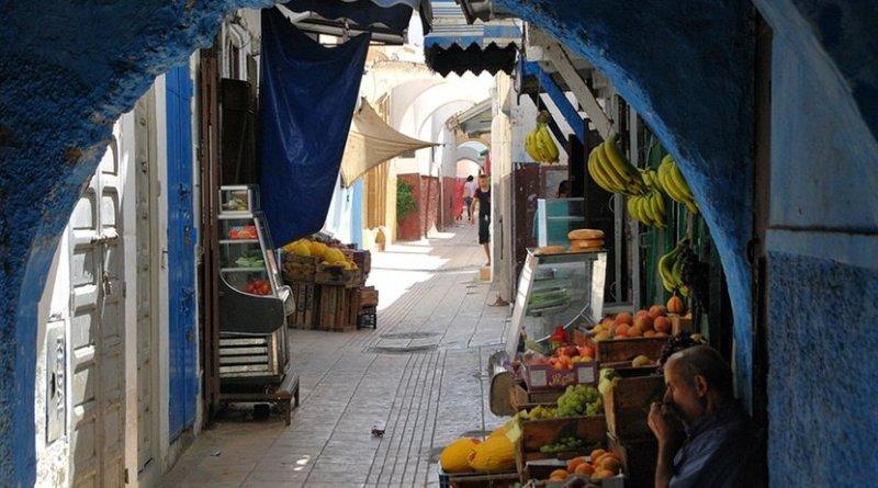 Market in Rabat, Morocco.