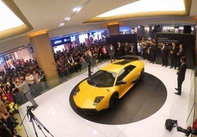Iranian Engineers Unveil Reverse-Engineered Lamborghini. Photo Credit: Tasnim News Agency.