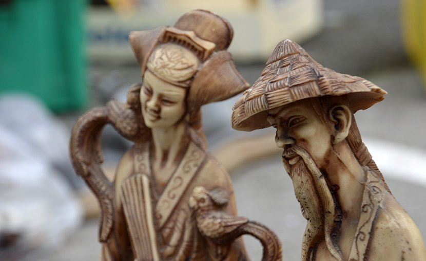 china market sculpture