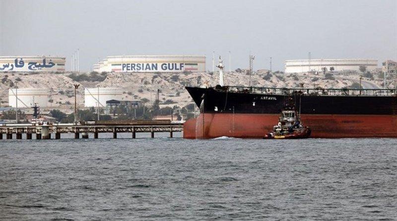 Oil tanker in Iran