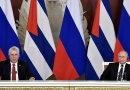 Russia's Vladimir Putin and Cuba's Miguel Diaz-Canel Bermudez. Photo Credit: Kremlin.ru