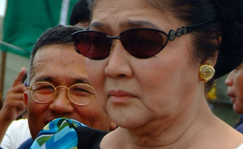 The Philippines' Imelda Marcos. Photo Credit: Brian P. Biller, US Navy, Wikipedia Commons.