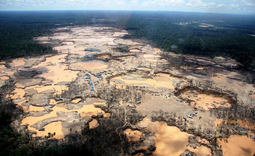 Deforestation in the Amazon rainforest. Credit Photo courtesy Wake Forest University