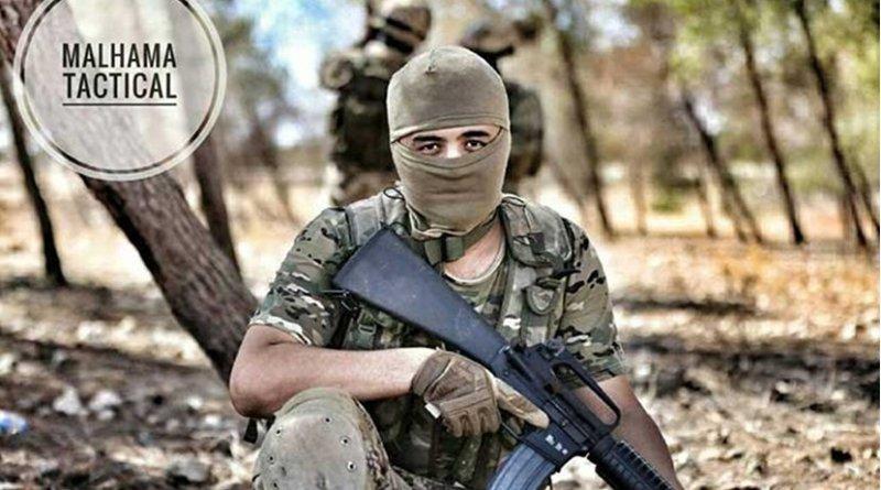 The leader of Malhama Tactical Abu Rofiq