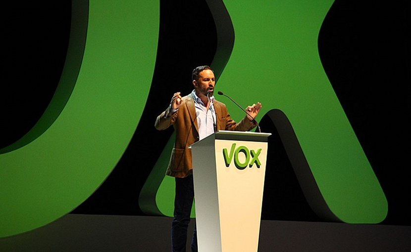 Santiago Abascal, President of Spanish political party VOX. Photo Credit: Contando Estrelas, Wikipedia Commons.