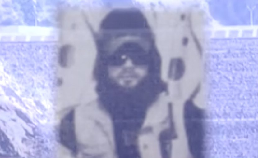 'Abu Osama Noraki' in Screengrab from Radio Ozodi