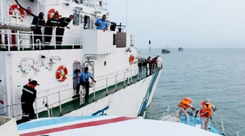 Sri Lanka releases India trawlers. Photo Credit: Sri Lanka government