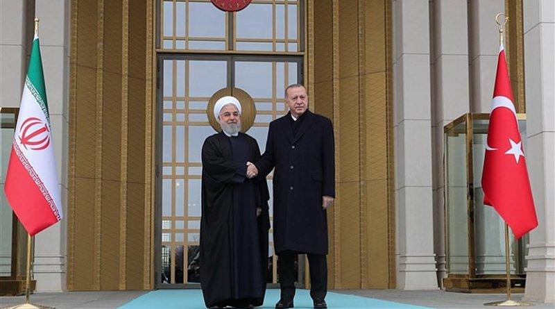 Iranian President Hassan Rouhani and his Turkish counterpart Recep Tayyip Erdogan. Photo Credit: Tasnim News Agency
