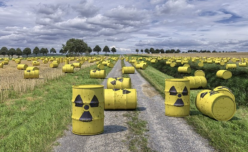 nuclear waste radioactive