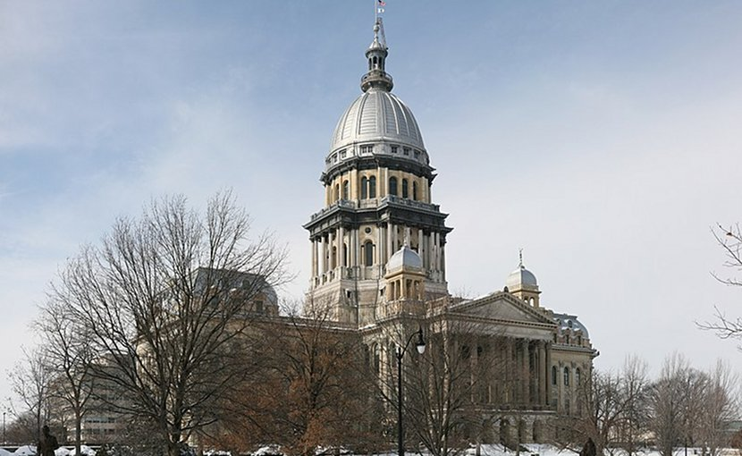 Illinois State Capitol in Springfield. Photo Credit: Daniel Schwen, Wikipedia Commons.