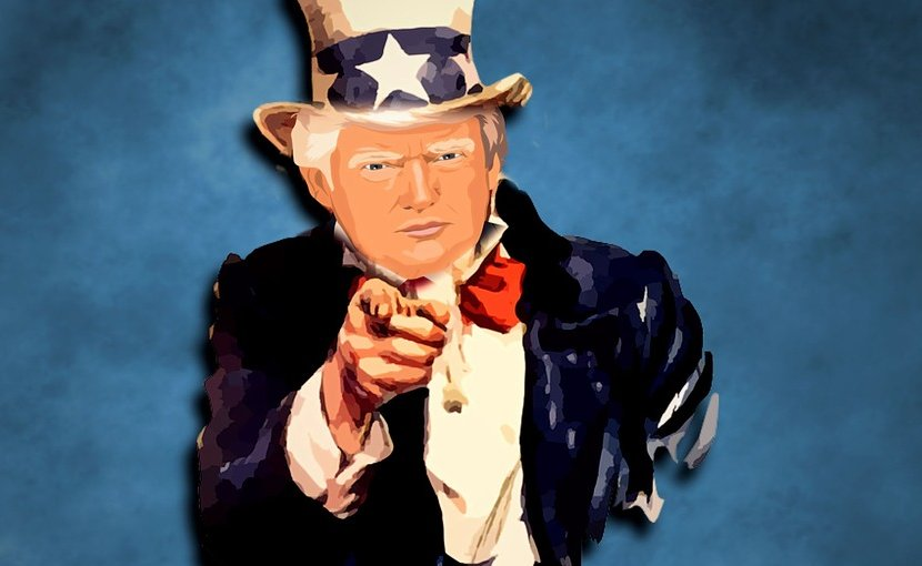donald trump poster uncle sam